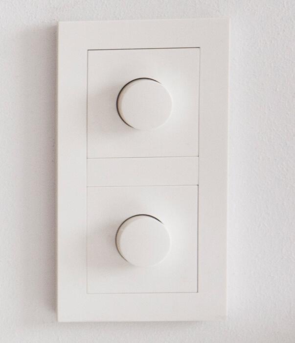 Hvilke downlights og dimmere velger elektrikeren?