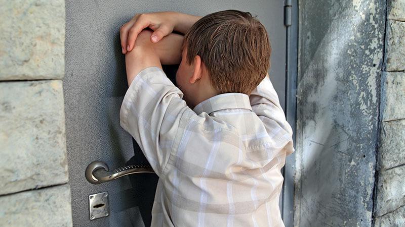 Det kan oppleves som fortvilende for barn å miste noe så viktig som husnøklene