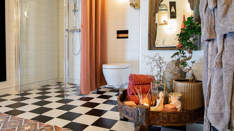 Et bad bør være både funksjonelt og koselig