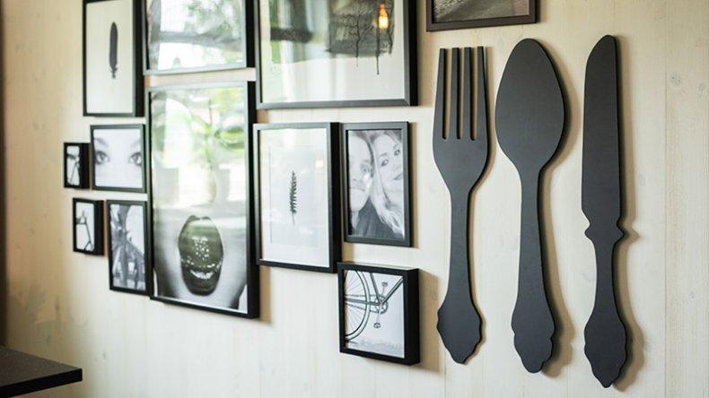 En collage kan gi hjemmet ditt et helt eget særpreg