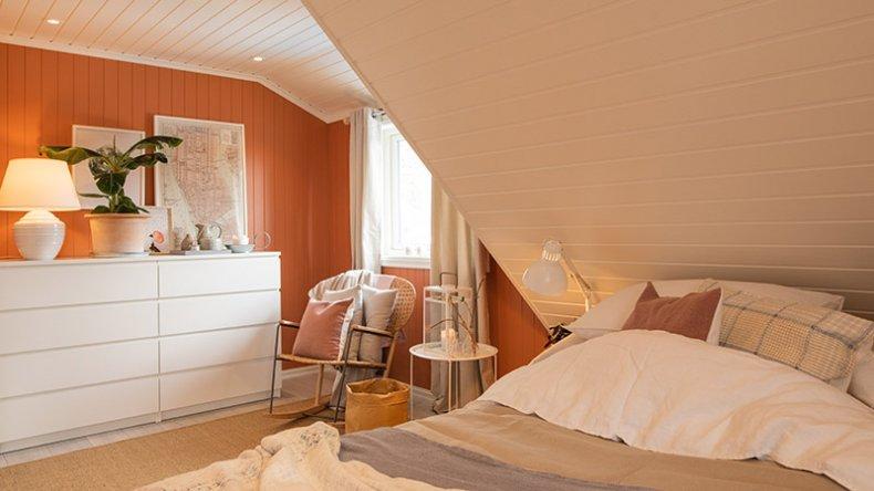 Det er viktig å skape en hyggelig atmosfære på soverommet