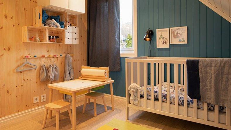 Nytt barnerom fra topp til tå