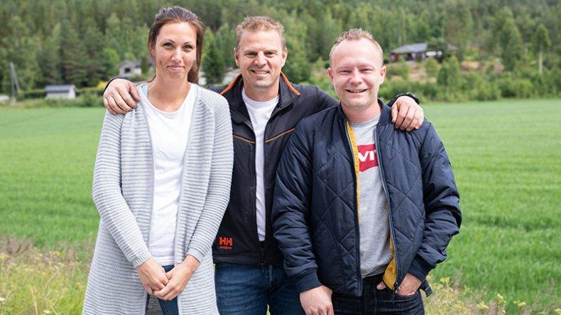I sesongens siste episode besøkte Sinnasnekker'n Slåstad