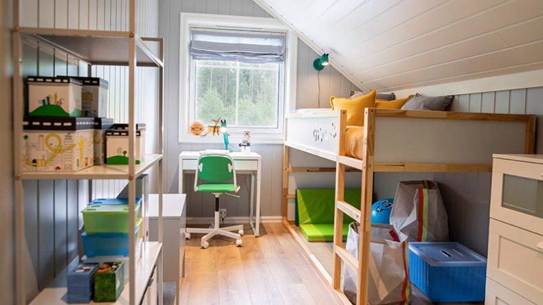 Nytt barnerom etter besøk av Sinnasnekker'n