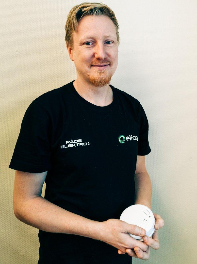 – Kjetil Johansen i Råde Elektro
