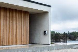 charge amps på vegg privat bolig