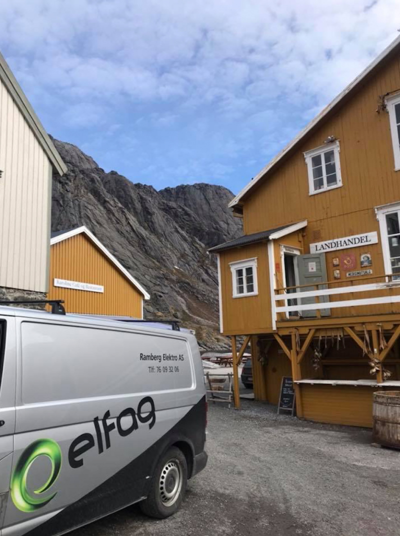 Rorbu i Nusfjord